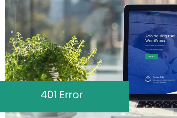 401 Errors oplossen