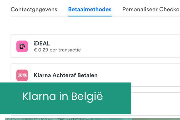 Klarna in België